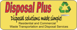 Disposal Plus, LLC roll-off dumpsters Waste Removal DUMPSTERS RENTALS Hartford CT and Springfield MA